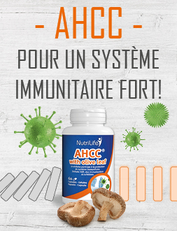 AHCC avec feuille d'olivier pour l'immunité
