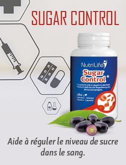 Sugar Control pour un taux de glycémie normal
